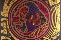 Mandala : art textile de Béatrice Rodaro-Vico